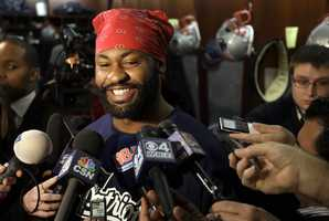 Patriots linebacker Brandon Spikes was the star of an Internet pornography video.