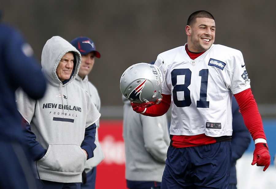 While the legal problems now facing Patriots star Aaron Hernandez are now in the headlines, he is not alone among Patriots players who have found themselves in the news for off-field incidents.