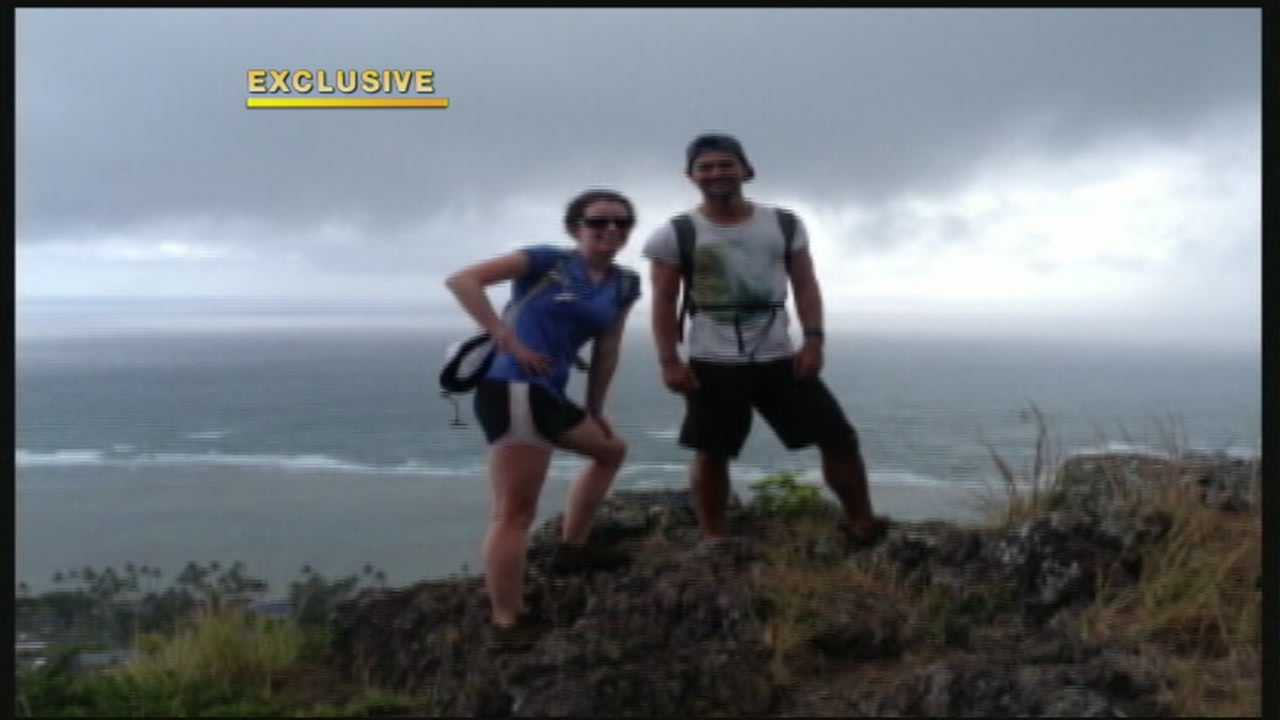 A 23-year-old woman who fell while hiking the ridge in Kaaawa Saturday has died. A friend hiking behind her spoke exclusively with KITV.