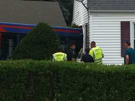 The incident happened at a home on Swanson Road.