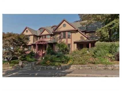 64 Hillside Avenue is on the market in Newton for $2.49 million.