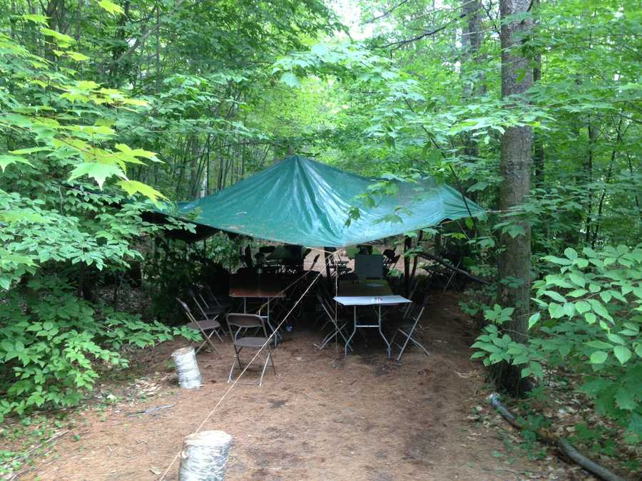 Twenty-three Boy Scouts were transported to area hospitals after a lightning strike on their camp.