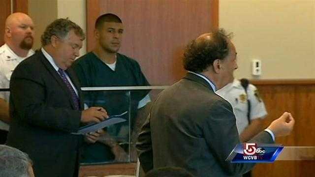 Aaron Hernandez bail hearing