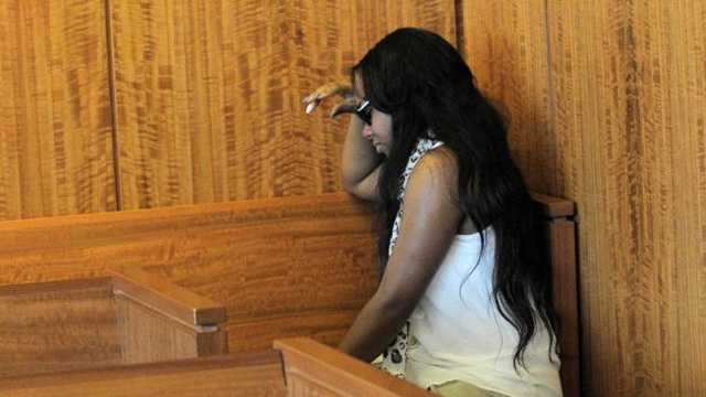 Aaron Hernandez's fiancee, Shayana Jenkins, wept after Judge Renee F. Dupuis denied Hernandez's request for bail.