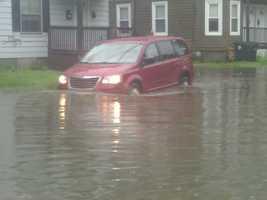 Flooding in Nashua