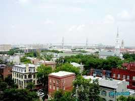 12.) Savannah, GA