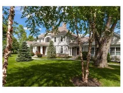 The home sits on 2 acres.