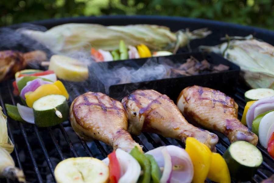 First, research has shown that high-heat grilling can convert proteins in red meat, pork, poultry, and fish into heterocyclic amines (HCAs).