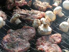 Another cancer-causing agent, called polycyclic aromatic hydrocarbons (PAHs), is found in the smoke. PAHs form when fat and juices from meat products drip on the heat source.