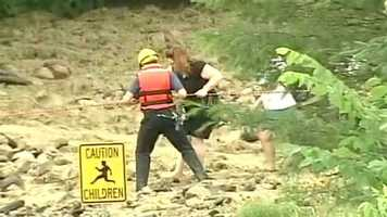 Flash floods cause serious damage and several road closures in western parts of the state.