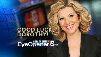 After three years with WCVB, Dorothy Krysiuk is leaving the NewsCenter 5 family.