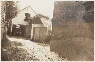 A run-down home located at 599 E. Sixth St. in South Boston in the 1930s.