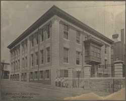 South Boston's Benjamin Dean School in 1890
