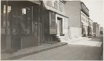 Typical 1930s frame dwelling, located at #72 & #74 Gold St.