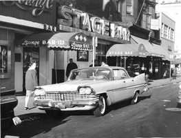 """South Boston's """"Stage Bar"""" in 1961"""