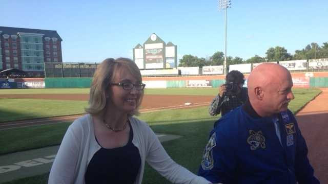 Giffords at Fisher Cats.JPG
