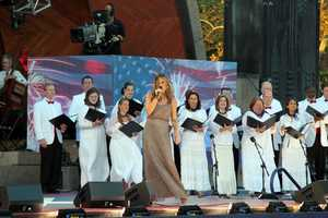 Ayla Brown performs with the Tanglewood Festival Chorus