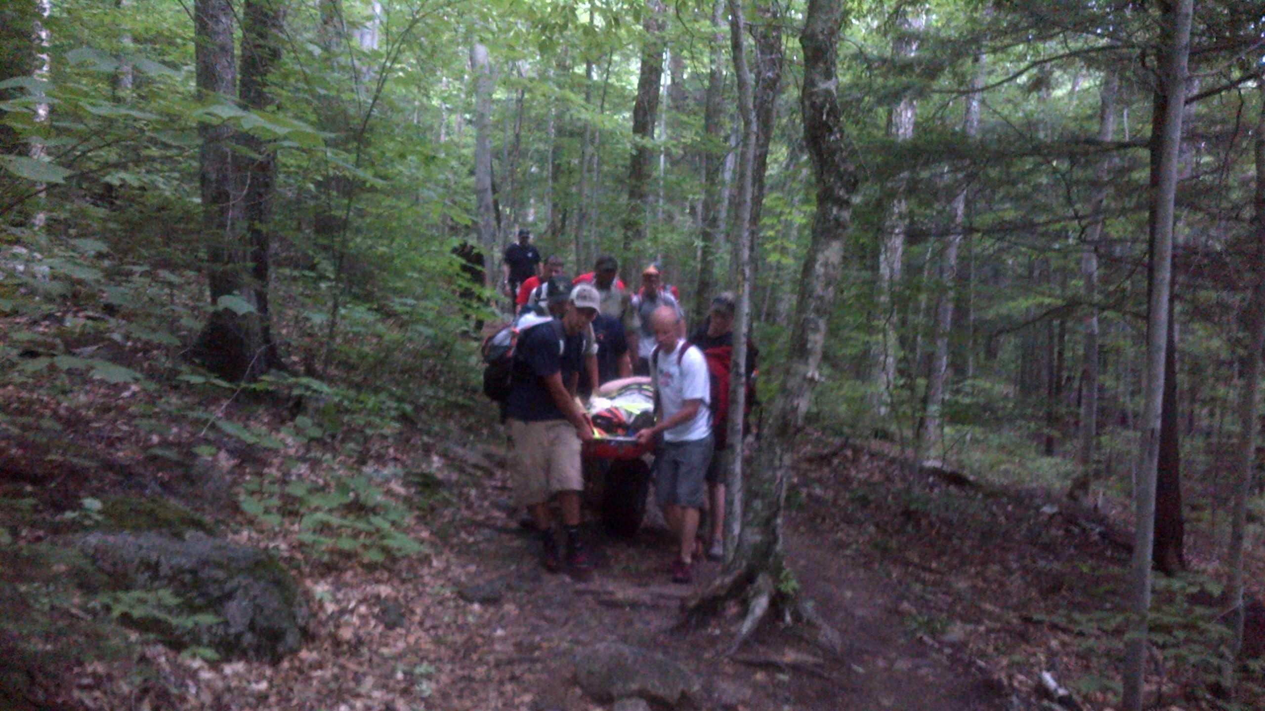 Img: Injured Hiker Rescued