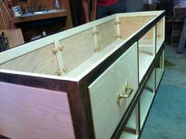 How would you feel about buying your coffin years before you die and then putting it on display in your home?