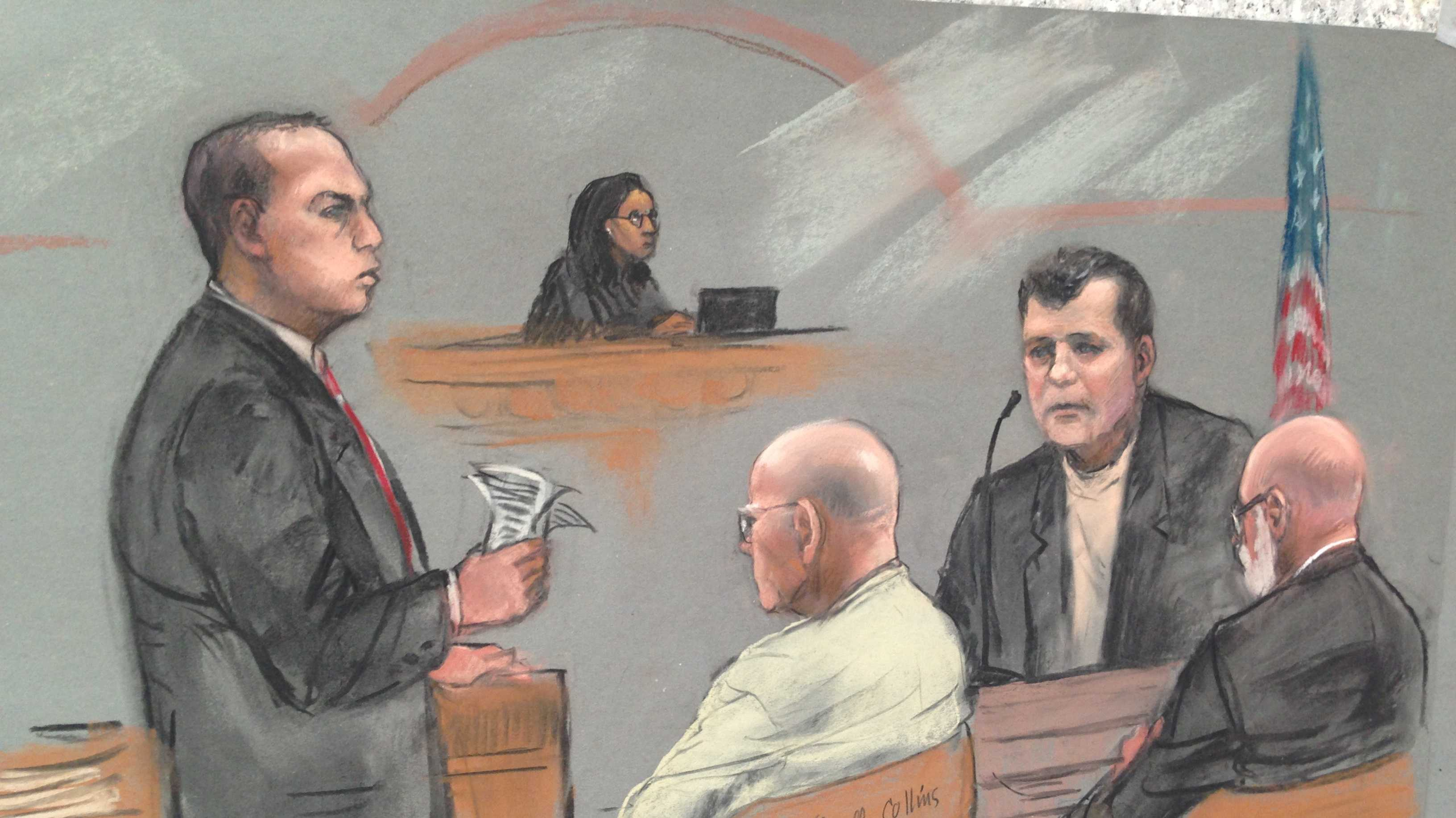Bulger sketch Kevin Weeks testifies 070813