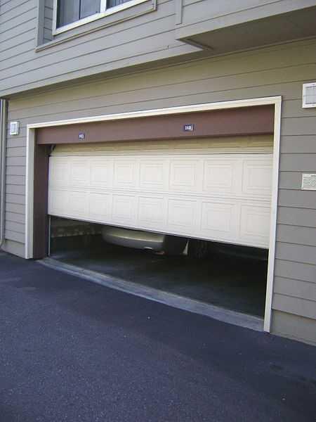 Lock the door between your garage and home.