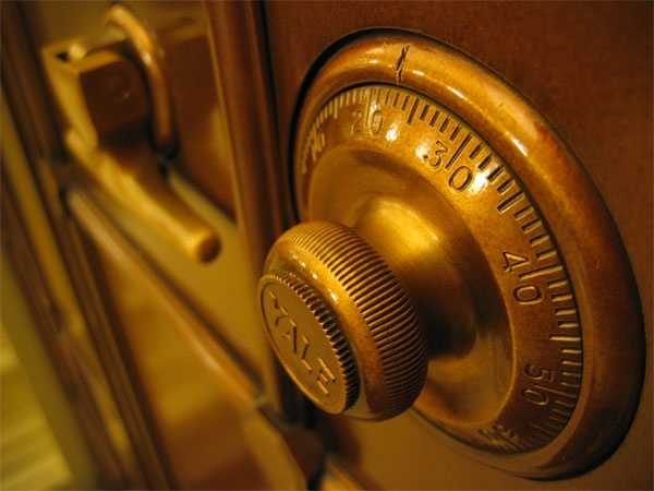 Purchase and install a safe.