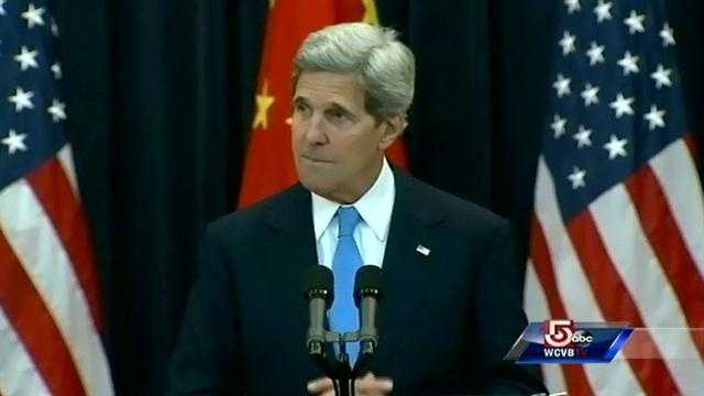 John Kerry comments on wife's condition