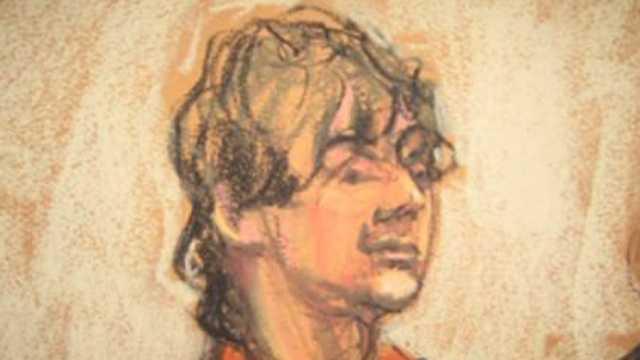 Dzhokhar Tsarnaev court sketch, 7