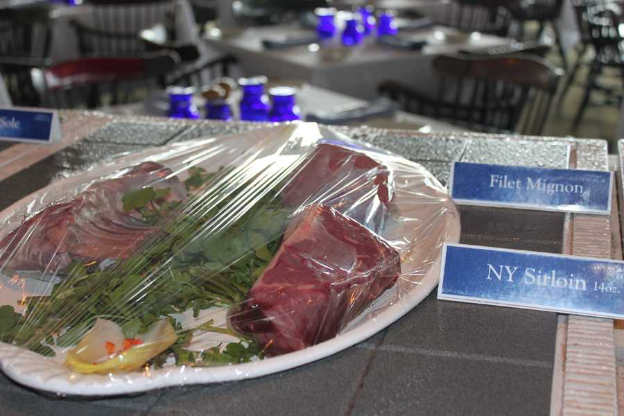 The staff at Anthony's Pier 4 took pride in the appearance of their dishes