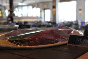 The NY Sirloin was one of many preferred dishes at Anthony's Pier 4