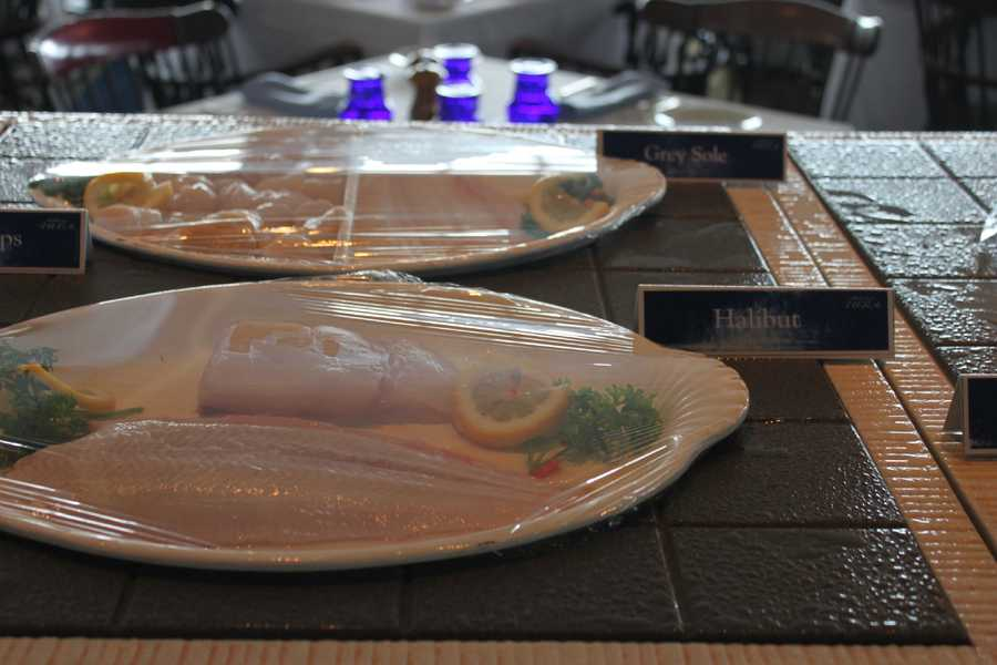 Anthony's Pier 4 offered several seafood dishes