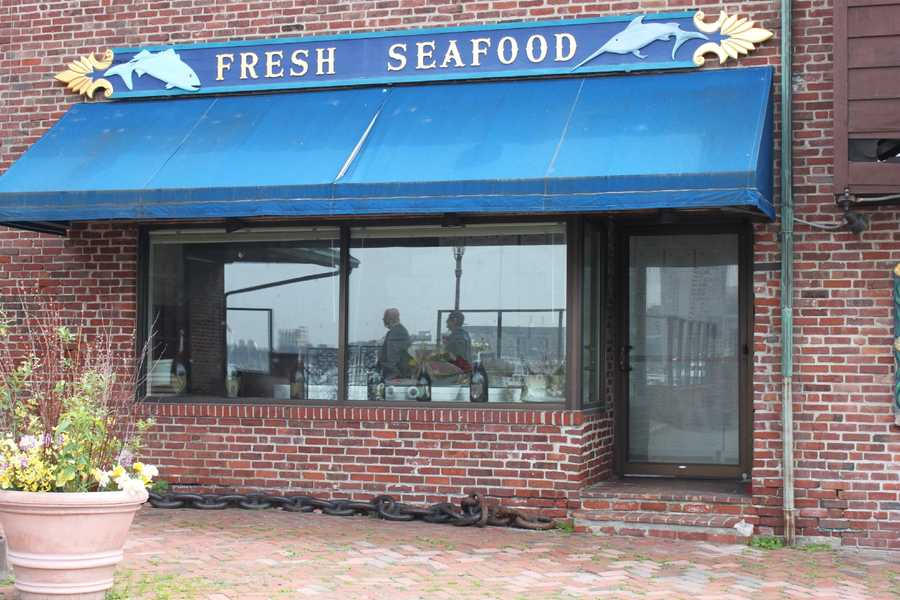 Fresh seafood was sold at Anthony's Pier 4