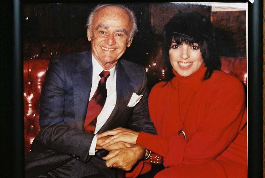 Liza Minnelli was one of many celebrities who went to the restaurant from time to time