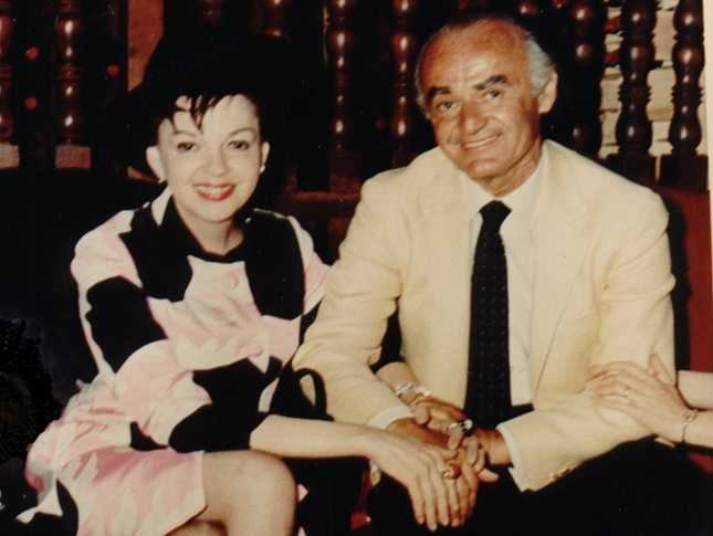 Judy Garland visited Anthony's Pier 4 and her photograph hung on the wall for many years