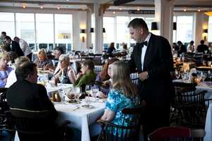 The dining room was always full at Anthony's Pier 4
