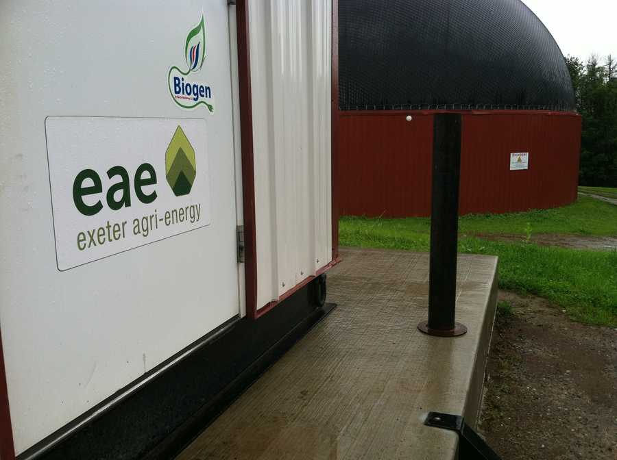 """We've produced about 8.25 million kilowatt hours since we started operation,"" said John Wintle with Exeter Agri-energy."