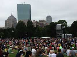 Boston's first annual performing arts festival kicked off Saturday.