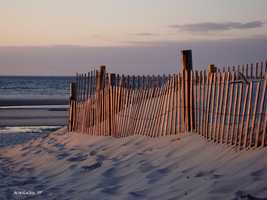 3) Mayflower Beach, Dennis, Mass.