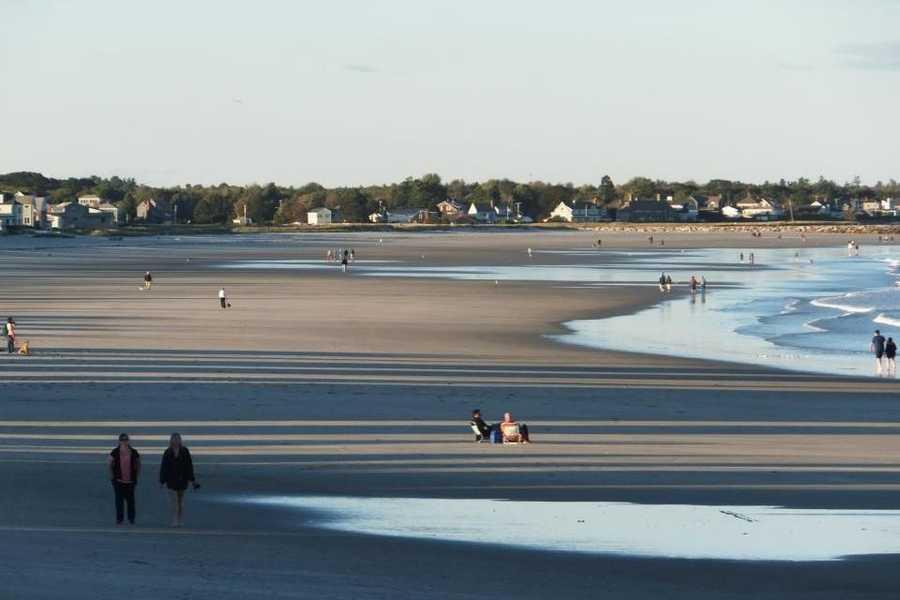 18) Wells Beach, Maine