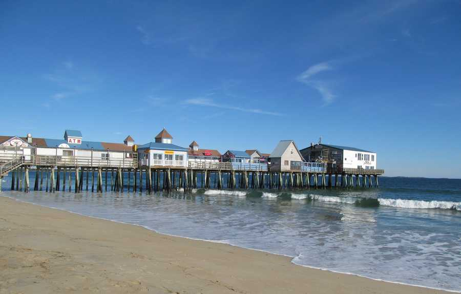 6)Old Orchard Beach, Maine