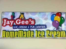 17. Jay Gee's Ice Cream & Fun Center - Methuen