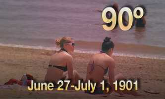 08) June 27 - July 1, 1901 - in a time without air conditioning, the city experienced a seven day heat wave,
