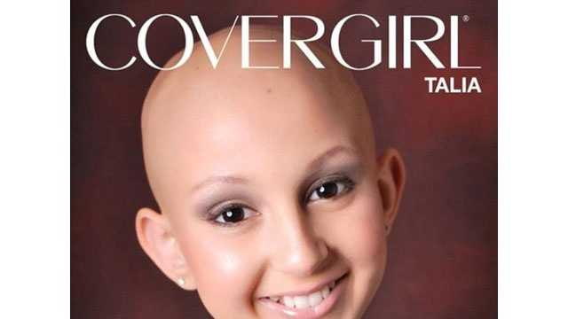 Cover girl Talia