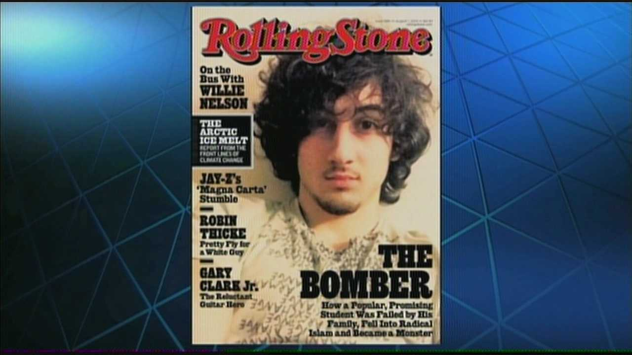"Massachusetts residents are reacting with outrage Wednesday after ""Rolling Stone"" magazine decided to put one of the alleged Boston Marathon bombing suspects on the cover."