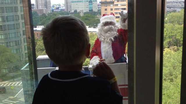 Santa at Shriners