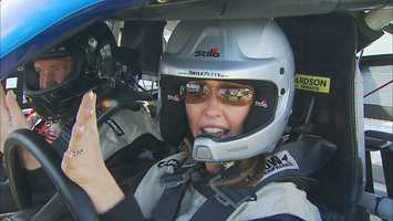 The Richard Petty Driving experience puts fans behind the wheel -- including Chronicle's JC Monahan, who went for drive at the New Hampshire Motor Speedway in Loudon.