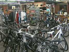 Many visitors to Newburyport, start out at Riverside Cycle.