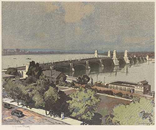 The Longfellow Bridge in 1931