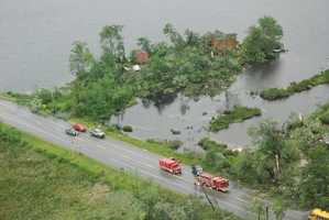 These pictures were taken by state police just hours after the 2008 tornado.