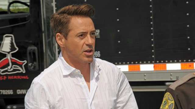 The crew from an upcoming Hollywood movie starring Robert Downey Jr. is back in Waltham and shooting scenes in at least two locations.